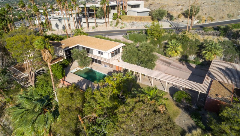 Steve Mcqueen S Former Palm Springs Pad Hits The Market