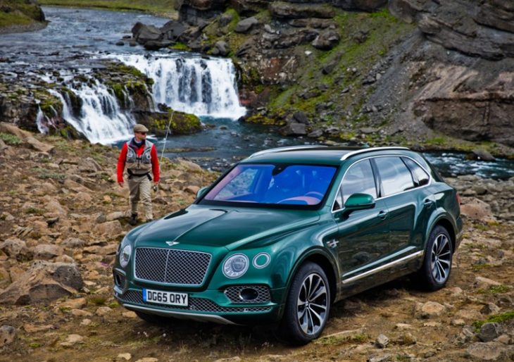 Mulliner Workshop Releases the Bentley Bentayga Fly Fishing Edition