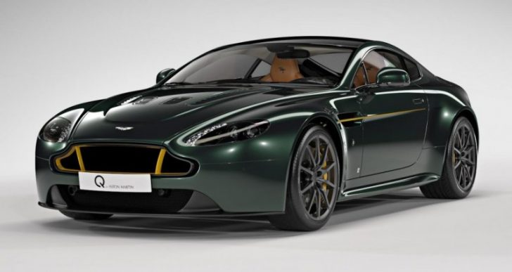 Aston Martin V12 Vantage S Spitfire 80 Pays Tribute to Fighter Plane