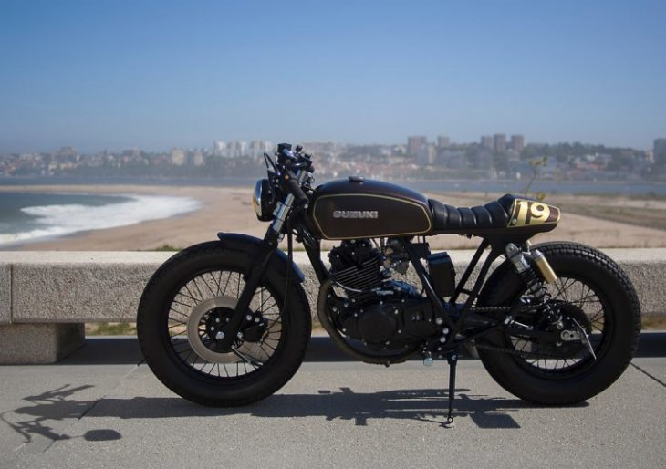 From Letter Carrier to Cafe Racer: Dream Wheels Heritage's Custom Suzuki GN250