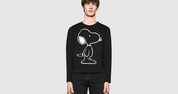 Snoopy Makes His Way to Gucci's Lineup in Whimsical Collab
