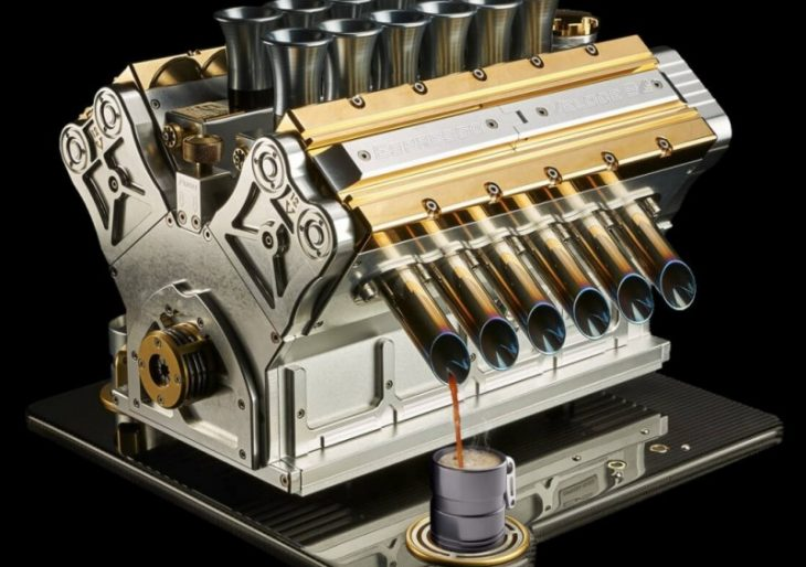The Veloce Aurum 18ct May Be the World's Most Luxurious Espresso Maker