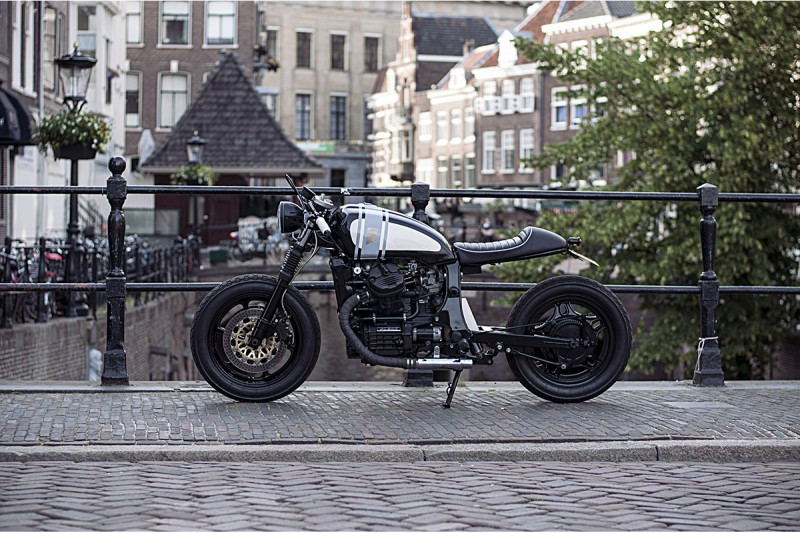 Wrench Kings Simplifies a Honda GL500 in Most Recent