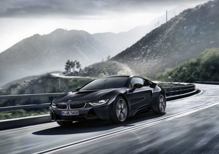 BMW Shows off Protonic Silver Edition i8 Ahead of Paris Motor Show Debut