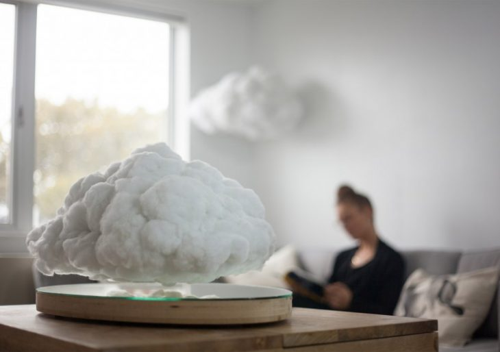 Let a Little Sky in with Richard Clarkson and Crealev's Levitating Cloud Bluetooth Speaker