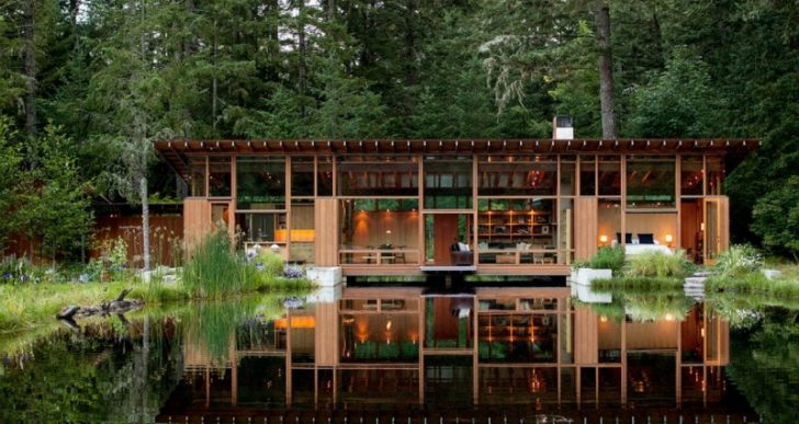 Newberg Residence in Oregon by Cutler Anderson Architect