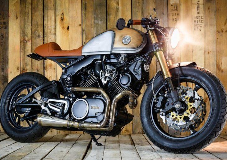 Sparta garage puts a heritage twist on the yamaha xv750 for Garage yamaha scooter