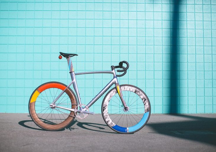 This Specialized Bike Was Inspired by Memphis Group Founder Ettore Sottsass