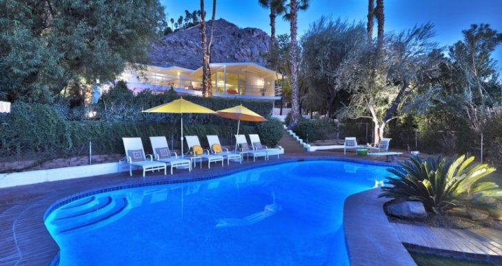 Eccentric Billionaire Howard Hughes' Former Palm Springs Mid-Century Lands on the Market for $1.2M