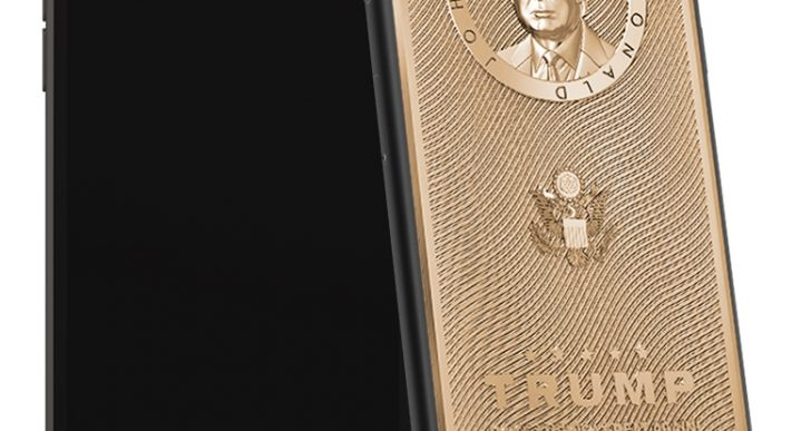 Russian Company Caviar Releases Gold iPhone 7 Engraved With Trump's Face and Motto