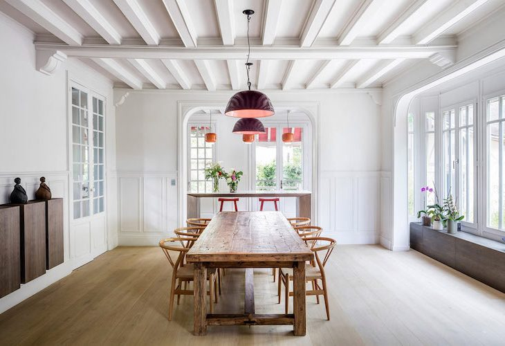 19th C. Parisian Home Artfully Blends Romantic & Contemporary ...