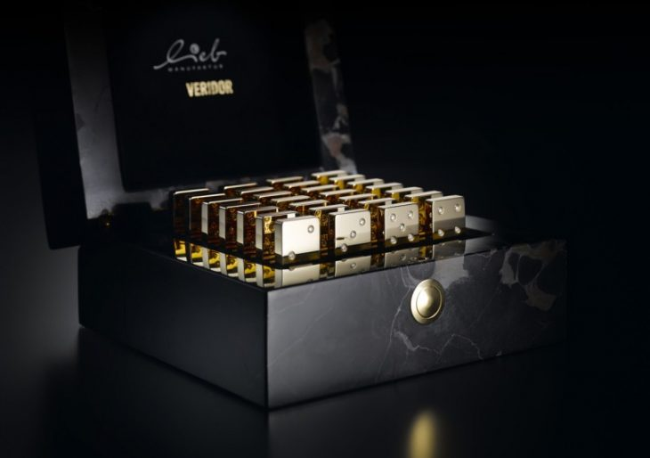 Domino Set Made From Solid Gold and Diamonds Is Shimming $150K Gift
