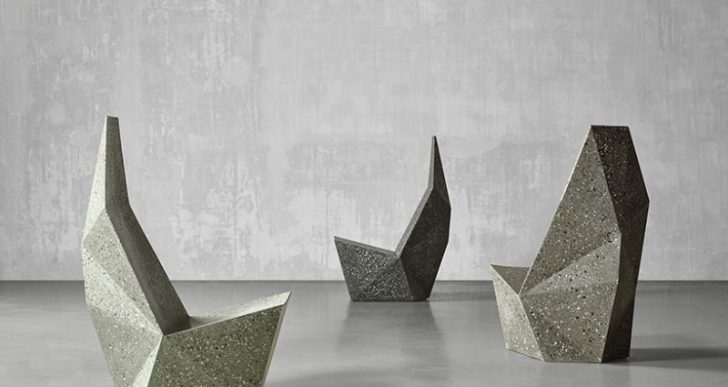 Concrete Chairs Unveiled at Miami Design Week Definitively Champion Form Over Function