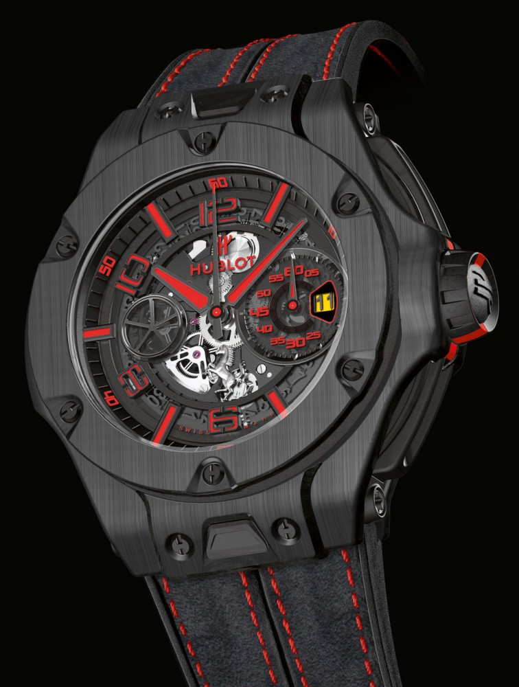 watches ferrari humble red