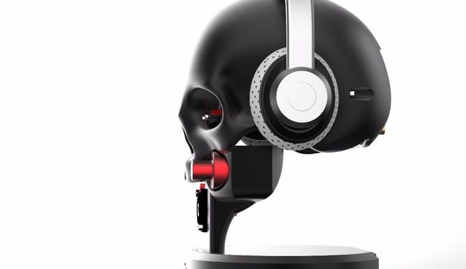 Metaxas & Sins Creates $13.5k Skull-Shaped Marquis Preamp