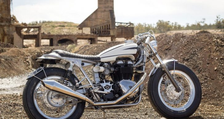 Ton-Up's Triumph Recalls Golden Age of Open Road