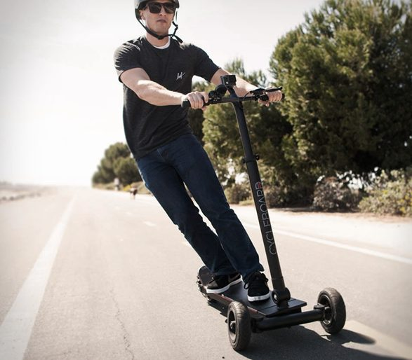 Cycleboard's EV 'Street Surfer' has 15-20 Mile Range