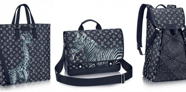 Limited-Ed Louis Vuitton Luggage Line by Jake & Dinos Chapman