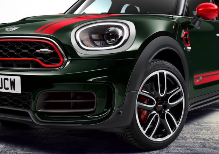 Mini's Countryman SUV Gets a Performance Boost In New John Cooper Works Version