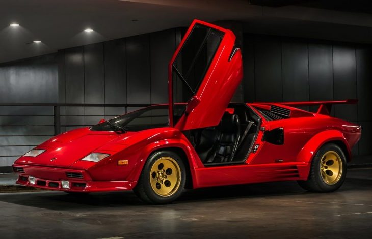 Mint 1988 Lamborghini Countach Comes Up for Sale