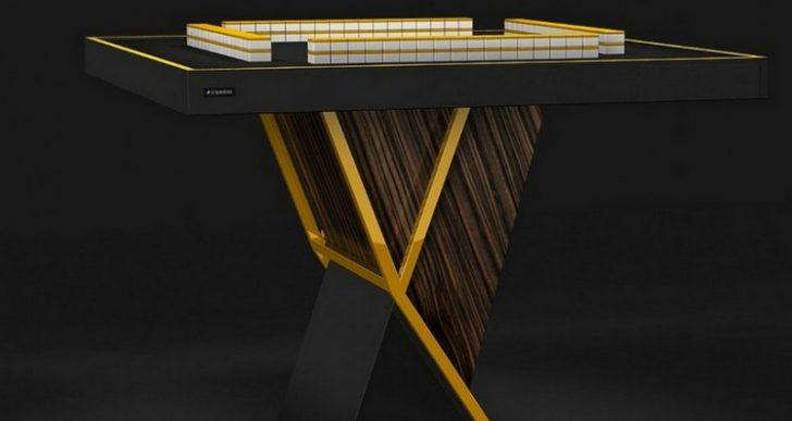 $12K Could Land You the World's Most Luxurious Mahjong Table
