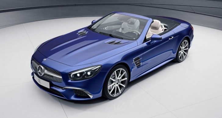 Mercedes-Benz Kicks into High Gear with Not One but Two Special Edition Roadsters