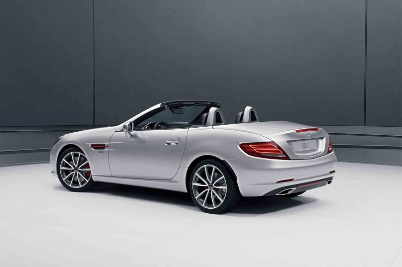 Mercedes benz kicks into high gear with not one but two for Mercedes benz special order