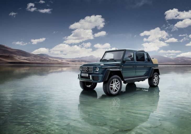 Mercedes-Maybach Unveils Its Beastly SUV, the 630-HP G650 Landaulet
