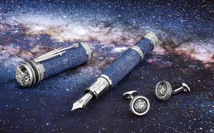 Montblanc's Johannes Kepler High Artistry Pens Are Out of This World