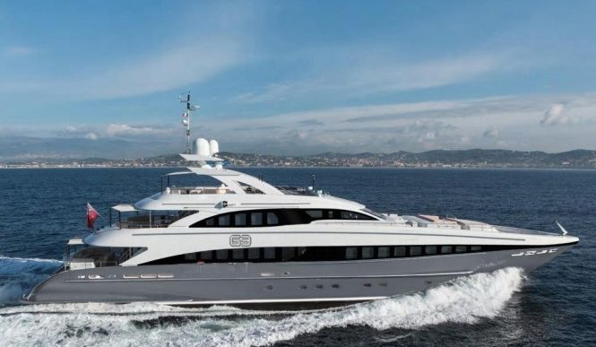 Charter the 144-Foot Superyacht 'G3' this Summer, Starting at $174K a Week