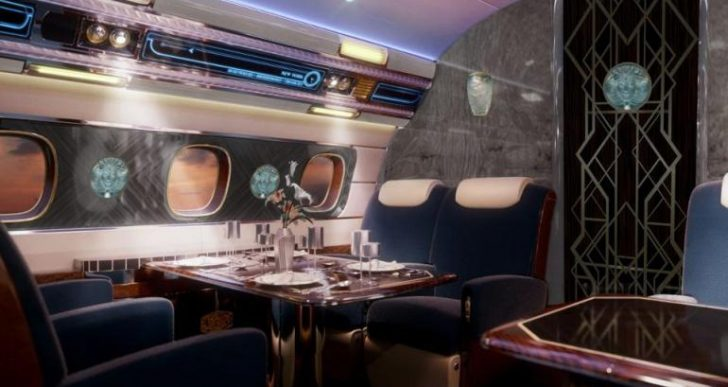 Embraer's Bespoke Manhattan and Hollywood Airships Bring a Touch of the Jazz Age to the Skies