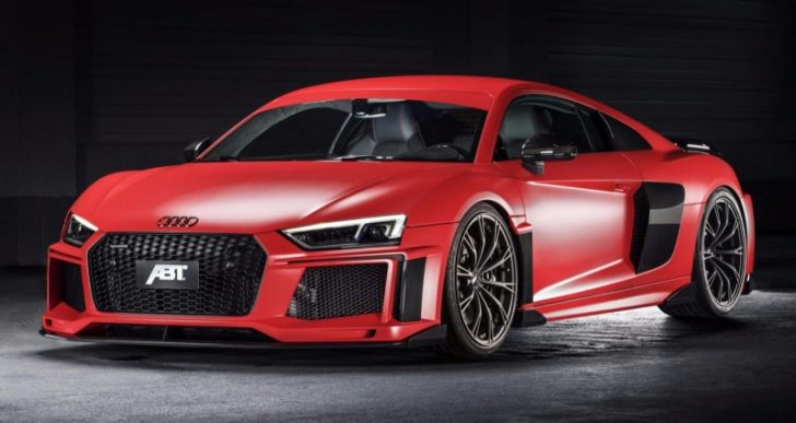 German Tuner ABT Gives the Audi R8 V10 Plus an Aggressive Upgrade in Advance of Geneva