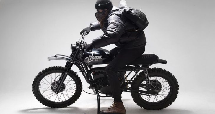 Introducing 'Thage,' a Ski-Equipped Husqvarna 256 Motorcycle Build