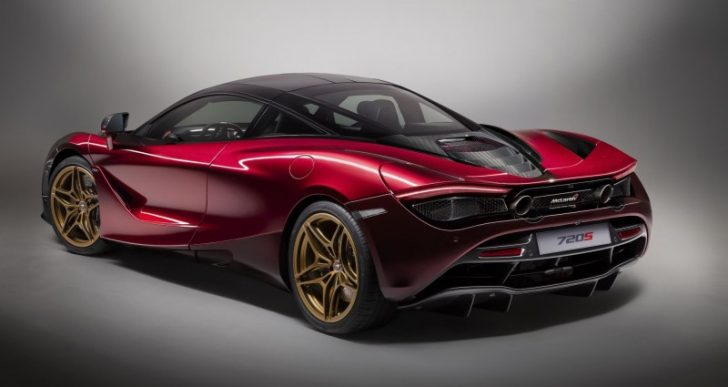 Right After Debuting the 720S, McLaren Shows off a Special Edition, the 'Velocity'