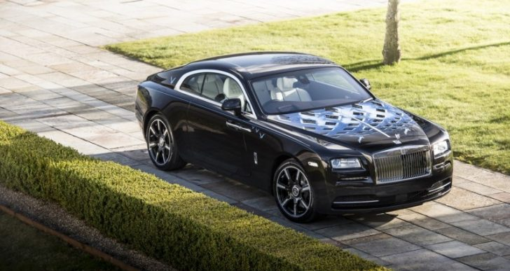 Rolls-Royce Teams with British Rock Legends for A Series of Custom Wraiths