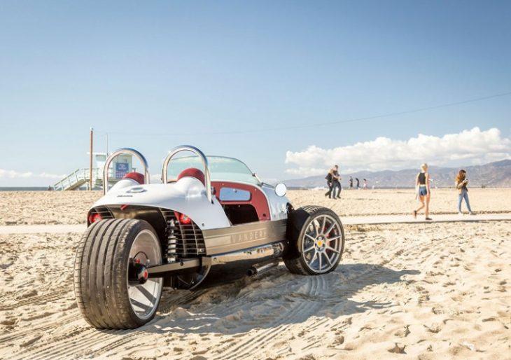 Vanderhall's Venice Three-Wheel Roadster Is Vintage California