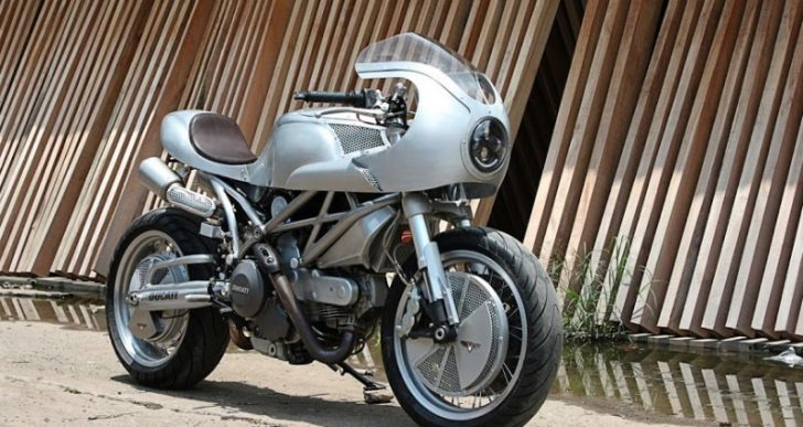 White Collar Bike's Space-Age Retro Ducati 795