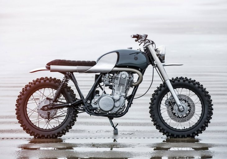 Auto Fabrica's Custom Yamaha SR500 Finds a Happy Medium Between Rugged and Sleek