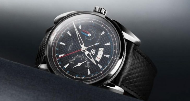 Bugatti and Parmigiani Fleurier's Aérolithe Performance Watch is Impeccable