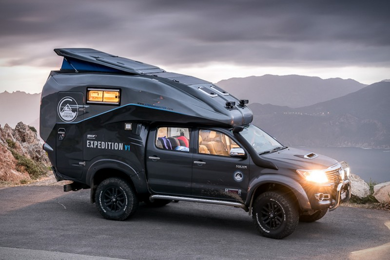How Much Is The Toyota Hilux Expedition V1 Camper >> Geocar and Arctic Trucks Iceland Come Together on the Rugged Toyota Hilux Expedition V1 Camper ...