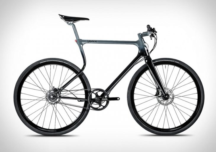 German Engineering Makes the Urwhan Stadtfuchs Bike One of the Sleekest Money Can Buy