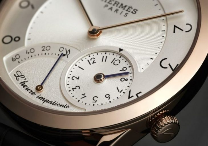 Hermes and Jean-Marc Wiederrecht Come up with an Impatient Watch that's Classic to the Core