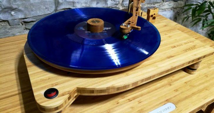 Tri-Art Audio's $650 Sprout Bamboo Turntable Is an Earthy Addition to Your Audio Set-up