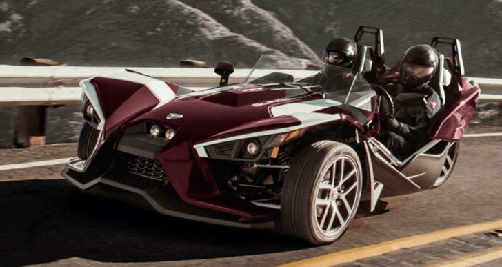 Wild Cherry: Polaris Introduces a Limited Edition SL LE Two-Seater