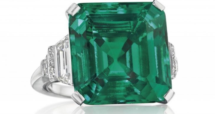 Christie's Expects to Fetch $4M-$6M for Rockefeller Emerald