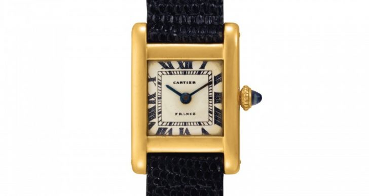 And the Winning Bidder for Jackie Kennedy's Cartier Tank Watch Is…Kim Kardashian?