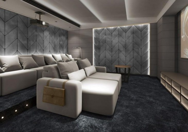 Coleccion Alexandra's Plush Cinema Seating is Just the Upgrade Your Home Theater Needs