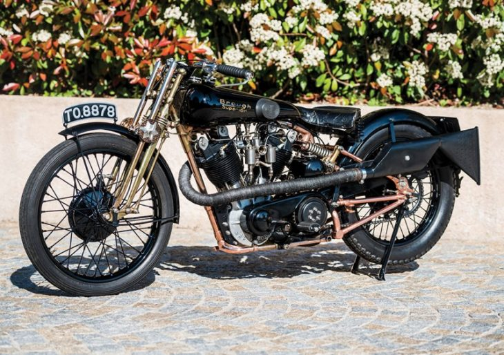 Get in on Motorcycling History by Placing a Bid on the Gorgeous 1928 Brough Superior SS100 'Moby Dick'