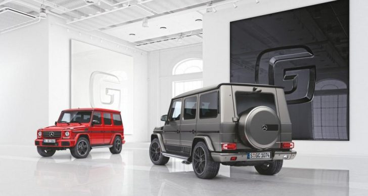 Mercedes Introduces Jaw-Dropping G-Class Designo Manufaktur Editions