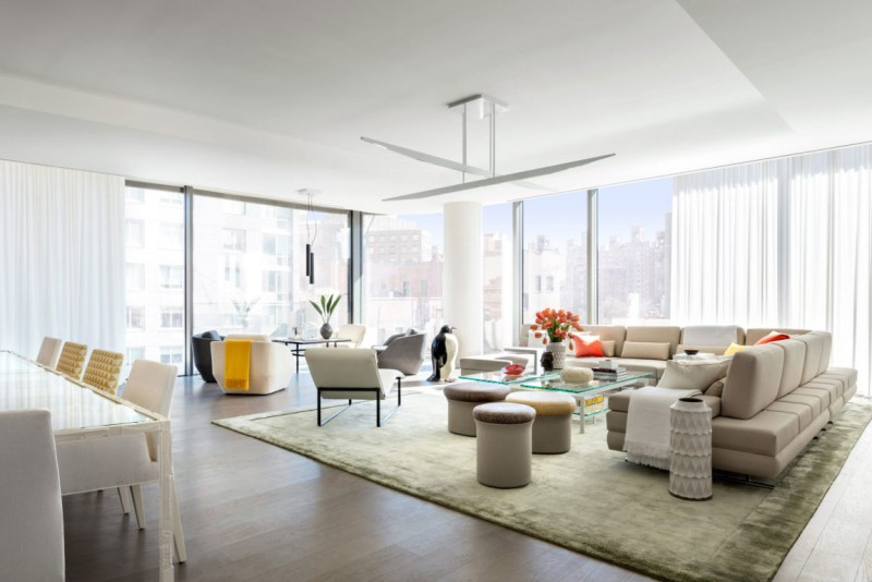 Model apartments in new york by jennifer post american for Living in a model apartment